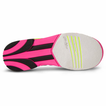 KR Strikeforce Quest Women's Bowling Shoes Black Pink Yellow