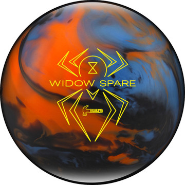 Hammer Widow Spare Bowling Ball Blue Orange Smoke