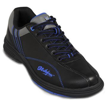 KR Strikeforce Raptor Mens Right Hand Bowling Shoes Black Royal