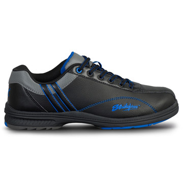 KR Strikeforce Raptor Mens Right Hand Bowling Shoes Black Royal Wide