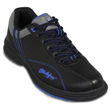 KR Strikeforce Raptor Mens Left Hand Bowling Shoes Black Royal