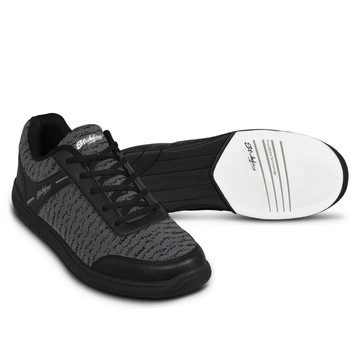 KR Strikeforce Flyer Mens Bowling Shoes Mesh Black Steal