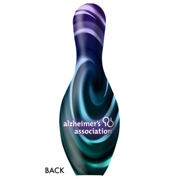OTB Alzheimer's Association Bowling Pin
