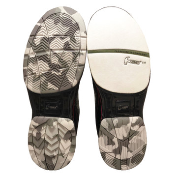 Hammer Force Camo R.E.D. Bowling Shoes Soles
