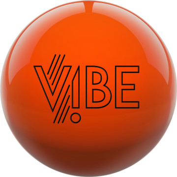 Hammer Vibe Bowling Ball Orange Front View