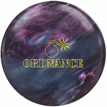 900 Global Ordnance Pearl Bowling Ball Front View