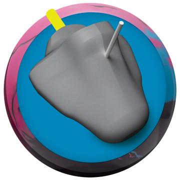 Radical Zing Bowling Ball Core View