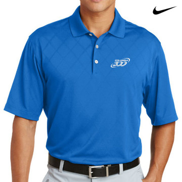 Columbia 300 Nike Dri-Fit Cross-Over Texture Mens Polo
