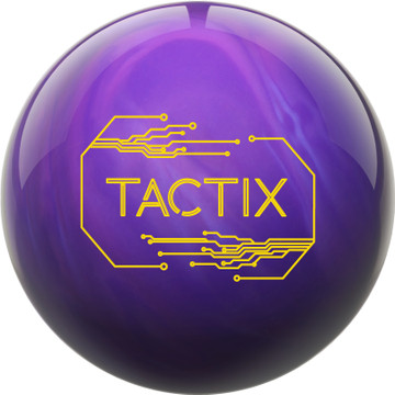 Track Tactix Hybrid Bowling Ball Front View