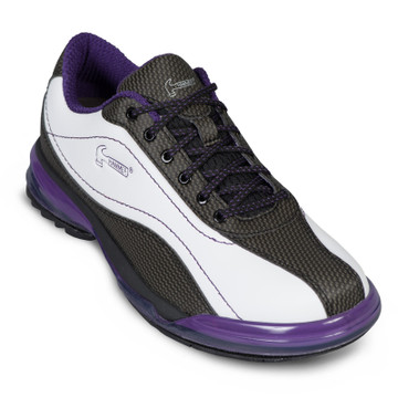 Hammer Force Women's Bowling Shoes Right Hand White Black Purple
