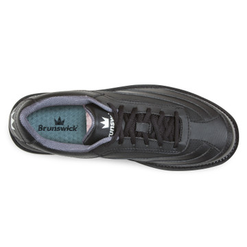 Brunswick Rampage Men's Bowling Shoes Black Right Hand