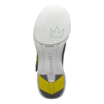 Brunswick Slingshot Bowling Shoes Grey Yellow