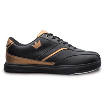 Brunswick Vapor Men's Bowling Shoes Black Copper