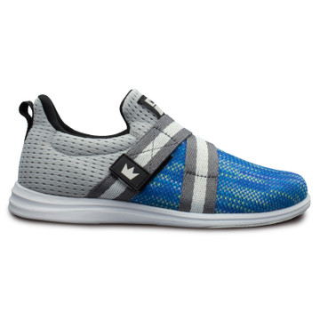Brunswick Versa Women's Bowling Shoes Blue Silver