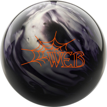 Hammer Web Pearl Bowling Ball Front View