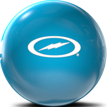 Storm Team Storm Clear Polyester Bowling Ball Blue