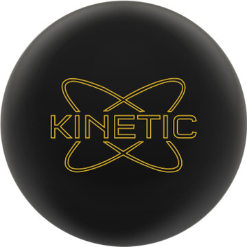 Track Kinetic Bowling Ball Obsidian Front View