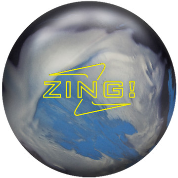 Radical Zing Hybrid Bowling Ball Front View
