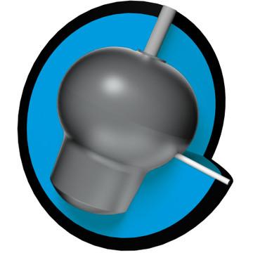 Brunswick Vapor Zone Hybrid Bowling Ball Core View