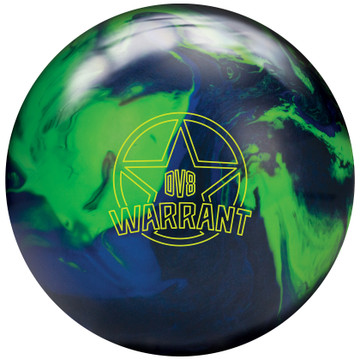 DV8 Warrant Bowling Ball Front View
