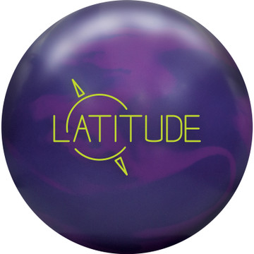 Track Latitude Bowling Ball Front View