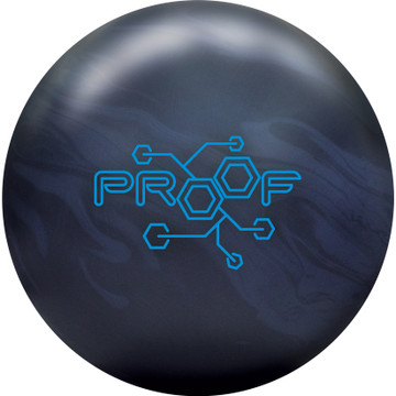 Track Proof Bowling Ball Front View