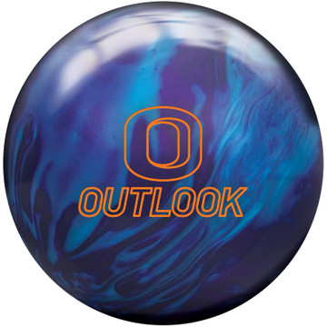 Columbia 300 Outlook Bowling Ball Front View