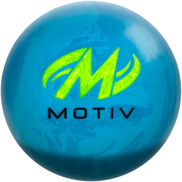 Motiv Ripcord Flight Bowling Ball Back View