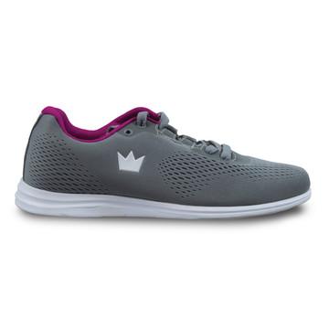 Brunswick Axis Women's Bowling Shoes Grey Pink