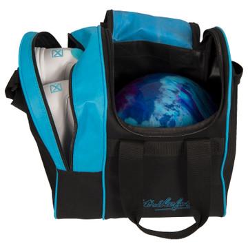 KR Rook Single Tote Bowling Bag Aqua