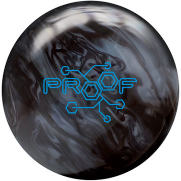 Track Proof Pearl Bowling Ball Front View