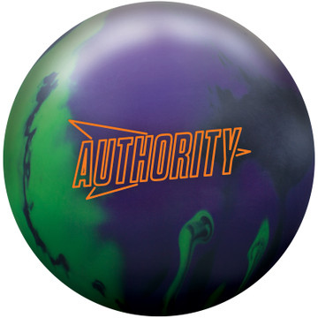 Columbia 300 Authority Solid Bowling Ball Front View