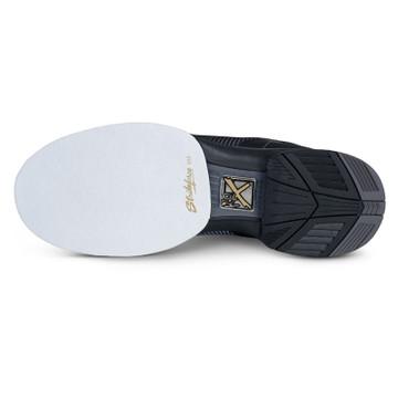 KR Strikeforce Rage Mens Bowling Shoes Gunmetal Black Right Hand