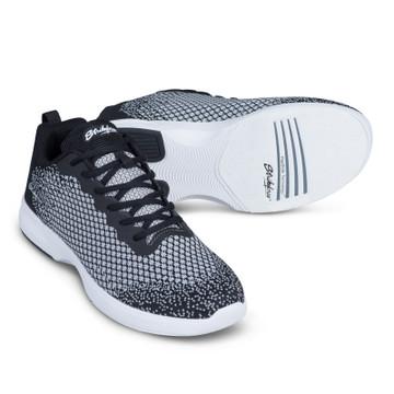 KR Strikeforce Aviator Mens Bowling Shoes Black Grey