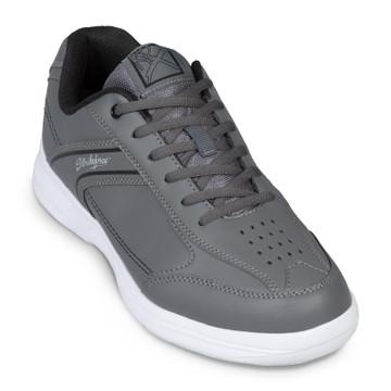 KR Strikeforce Flyer Lite Mens Bowling Shoes Slate Black Wide Width