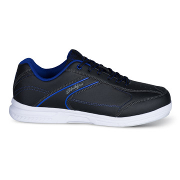 KR Strikeforce Flyer Lite Mens Bowling Shoes Black Indigo
