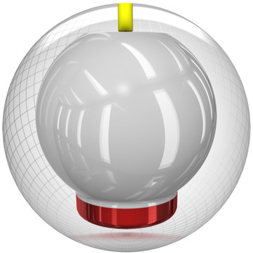 Storm Fast Pitch Bowling Ball Core View