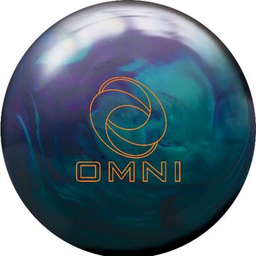Ebonite Omni Hybrid Bowling Ball Front View