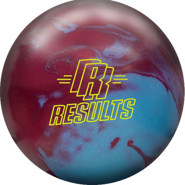 Radical Results Solid Bowling Ball Front  View