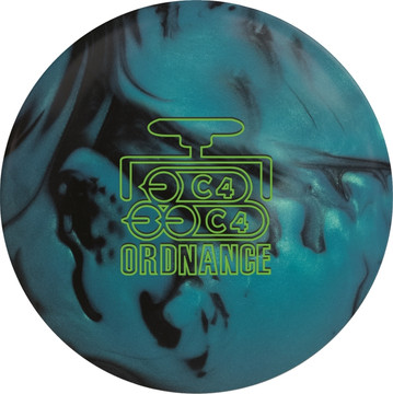 900 Global Ordnance C4 Bowling Ball Front View