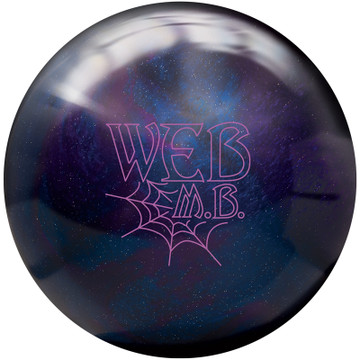 Hammer Web MB Bowling Ball Front View