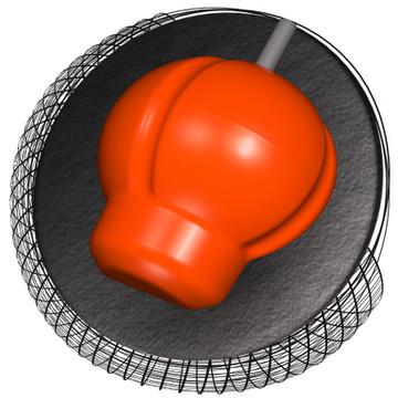 Hammer Web MB Bowling Ball Core View