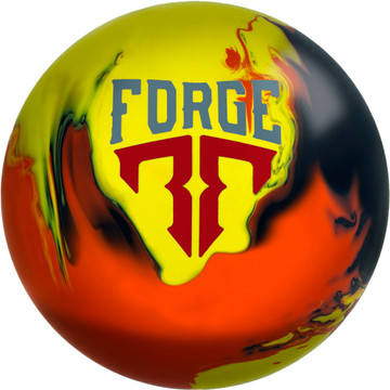Motiv Forge Flare Bowling Ball Front View