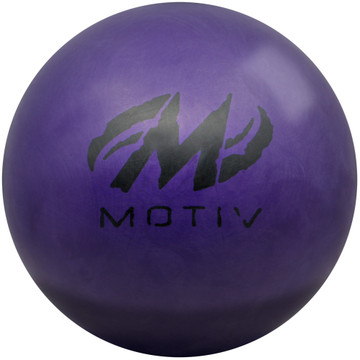 Motiv Purple Tank Bowling Ball Back View