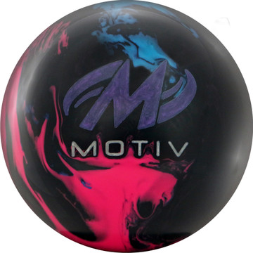 Motiv Trident Horizon Bowling Ball Back View