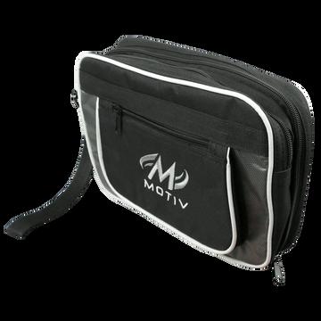 Motiv Bowling Accessory Bag Black Silver