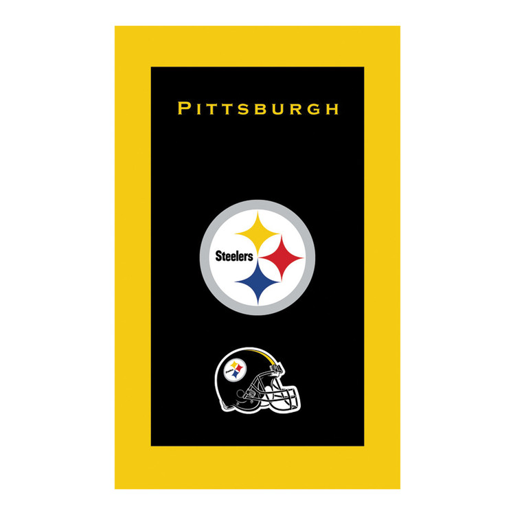 KR NFL Bowling Towel Pittsburgh Steelers