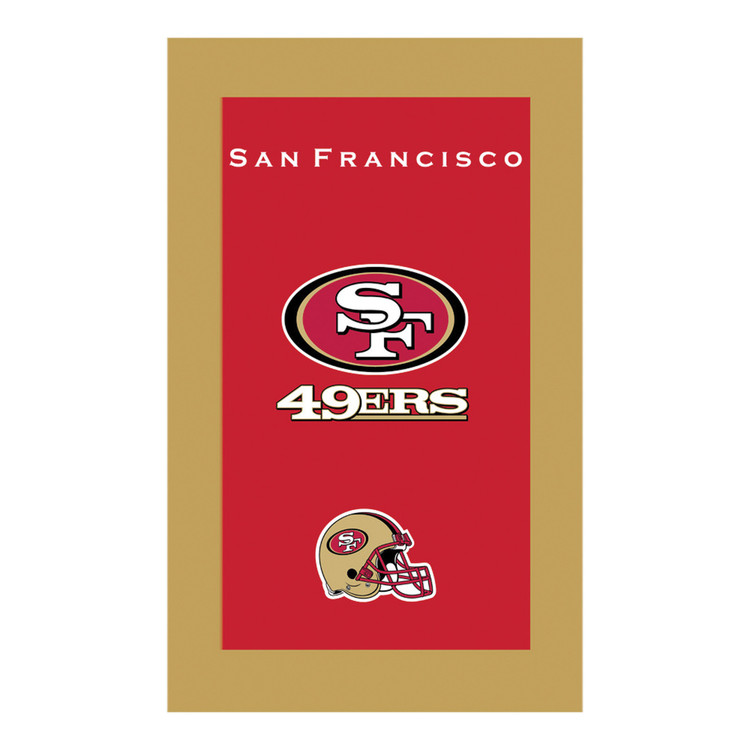 KR NFL Bowling Towel San Francisco 49ers