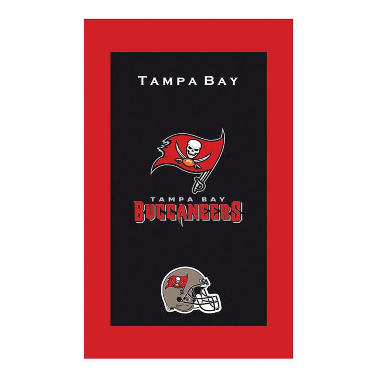 KR NFL Bowling Towel Tampa Bay Buccaneers