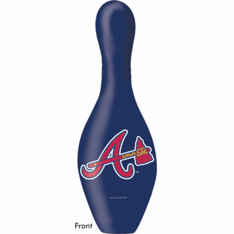 OTB MLB Bowling Pin Atlanta Braves Front